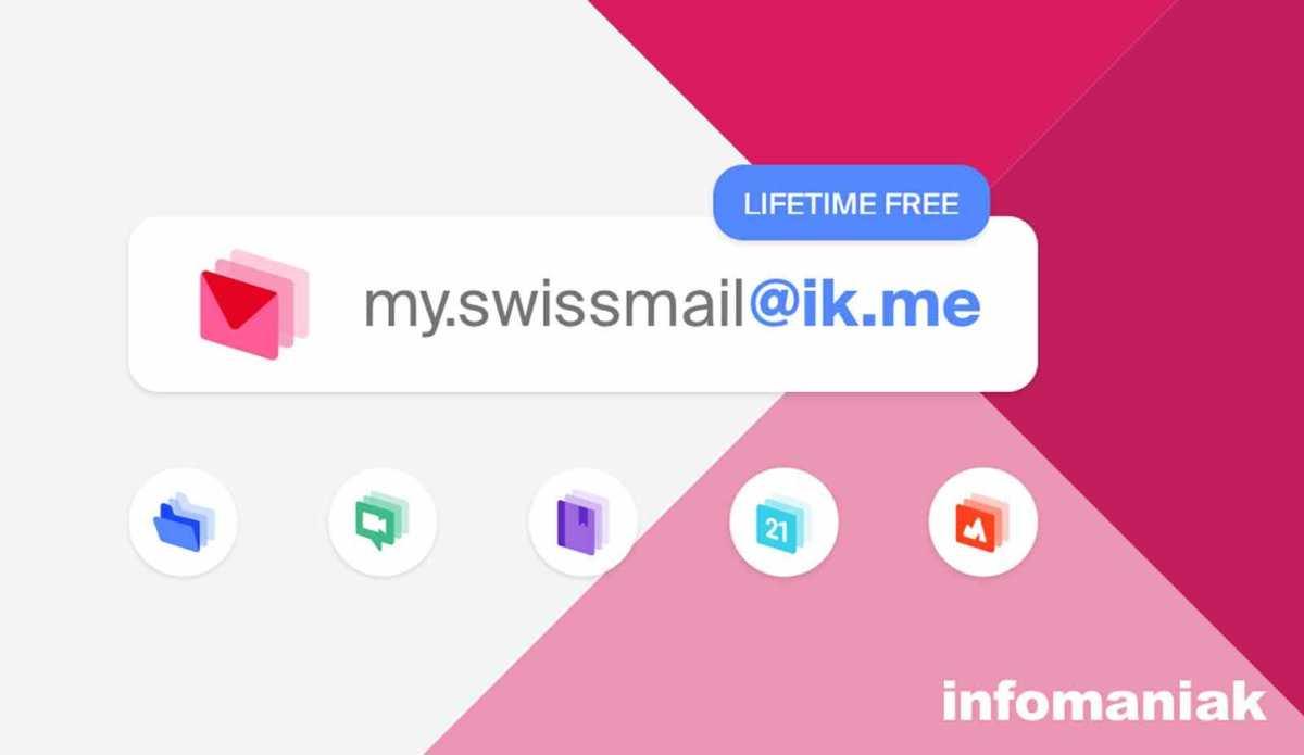 Infomaniak lance un mail gratuit: ik.me.
