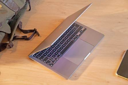 MacBook Pro 2020 avec Apple Silicon M1.