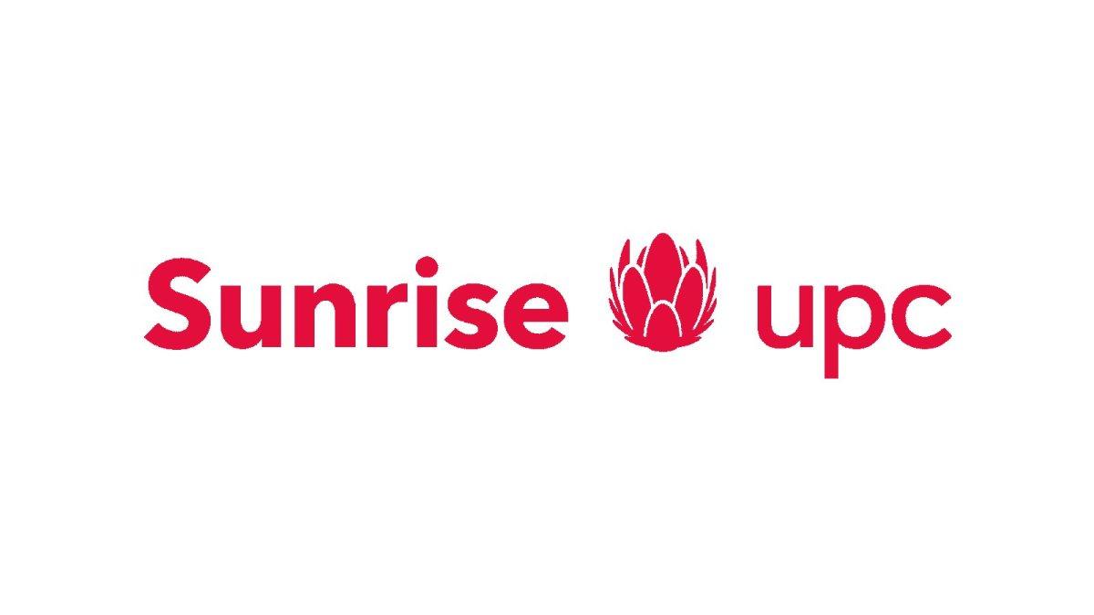 Le nouveau logo Sunrise UPC.