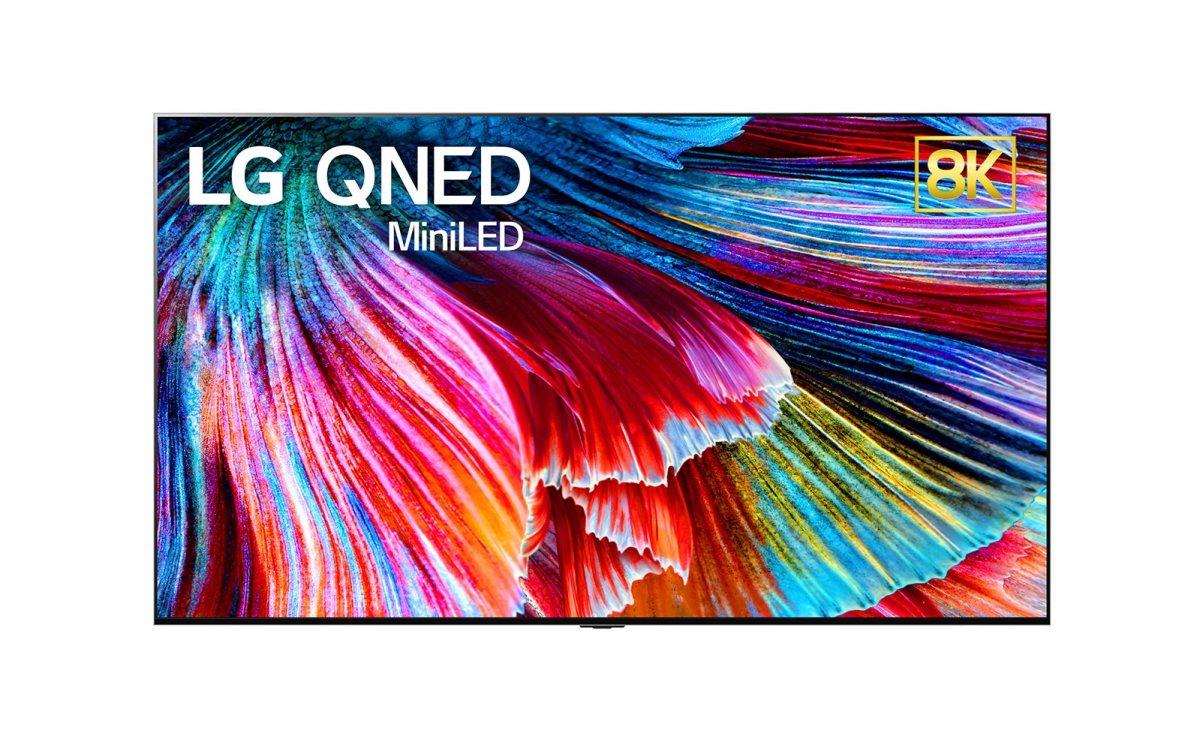 QNED ou la technologie Mini LED par LG.