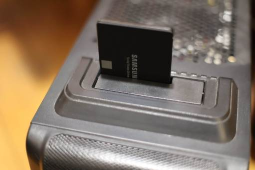 Le Samsung SSD 870 EVO en pleine migrtion.