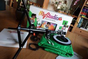 Le test simpliste du kit «fond vert» Easypix de MyStudio