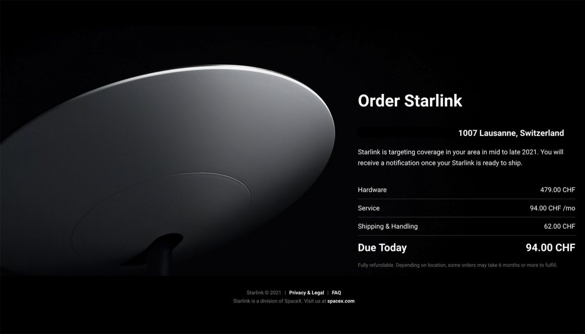 Starlink: faut vraiment en avoir besoin.