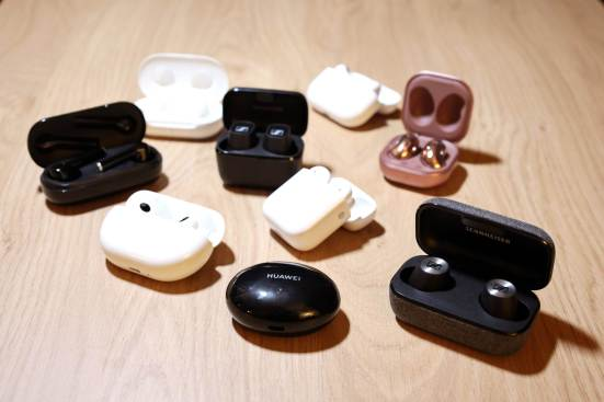 Le marché saturé des écouteurs...