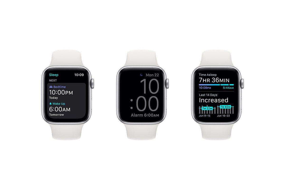 L'excellente Apple Watch peut vous aider à mieux dormir.