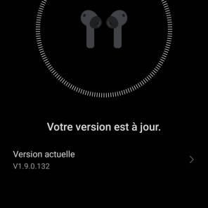 AI Life: l'interface pour piloter ses Huawei FreeBuds 4i.