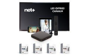 Net+ améliore son offre avec trois bouquets TV de CANAL+