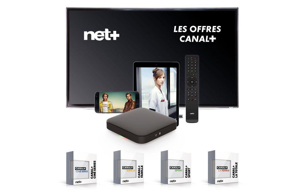L'offre de Canal+ sur Net+. C'est Net++?