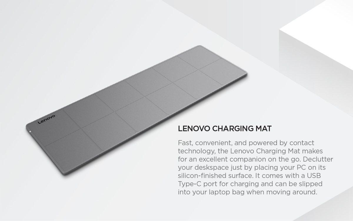 Lenovo Charging Mat. image: Lenovo.