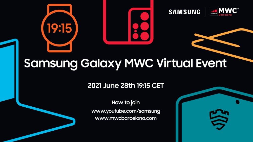 Samsung participera de manière virtuelle au MWC 2021.