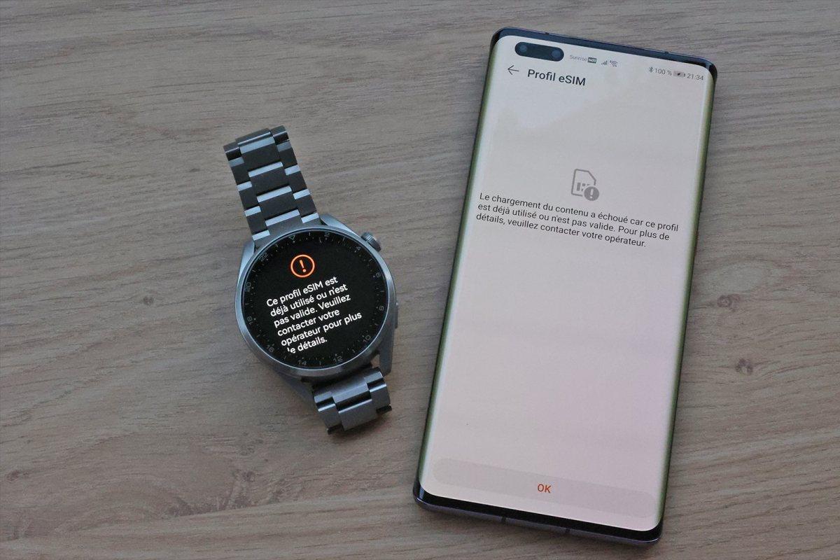 Huawei Watch 3 Pro et Mate 40 Pro.