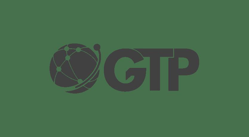 GTP logo in transparent grey png