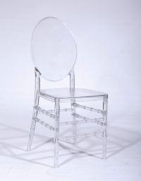Clear Back Chiavari Chair - Blossom Furnishings Company