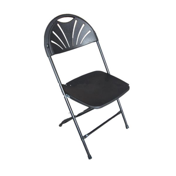 Fan back Folding Chairs  Blossom Furnishings Company