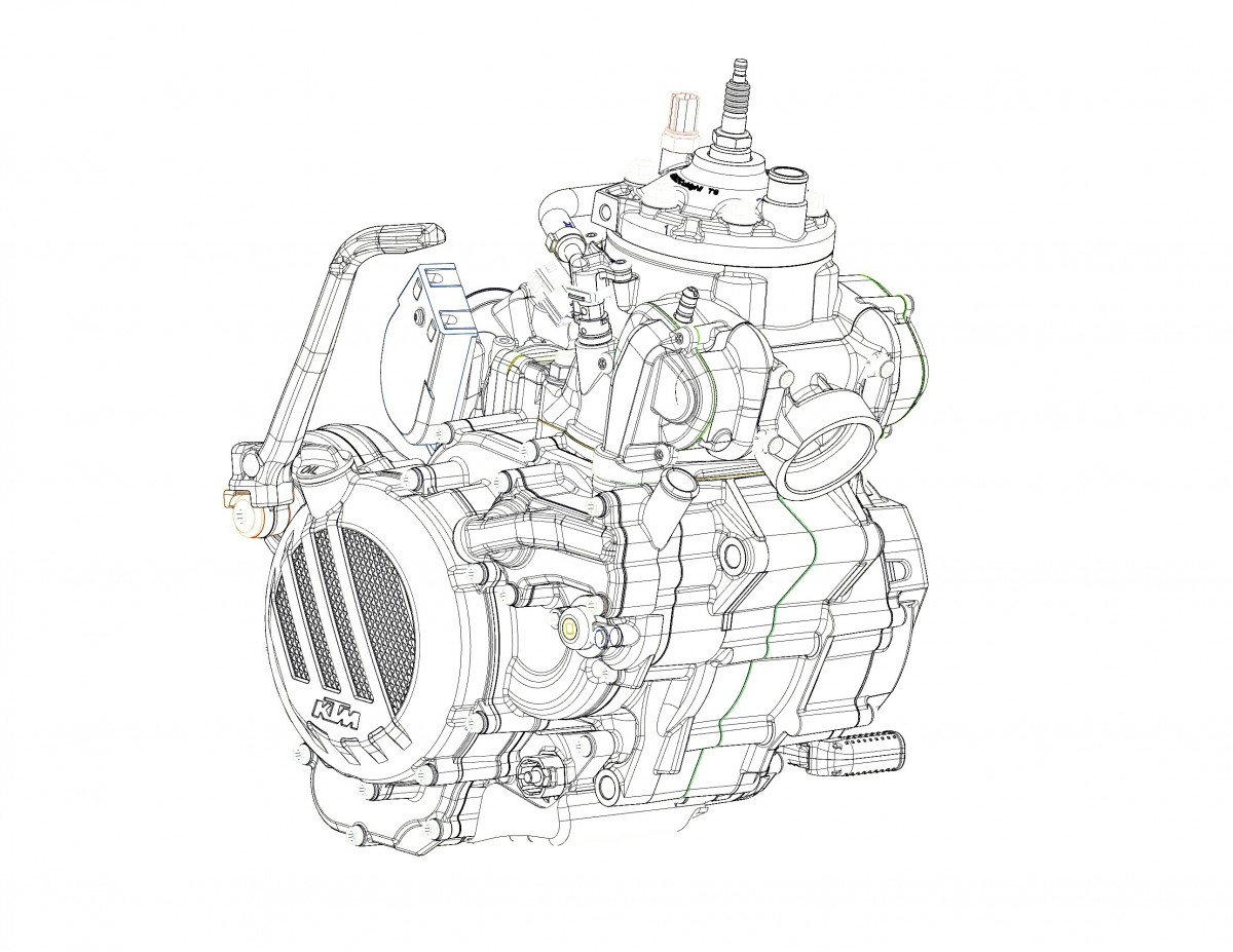 KTM confirms Fuel Injected 2-stroke Enduro EXC Range