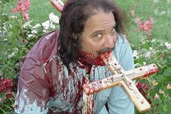 Ron Jeremy Plays Jesus in Bible Camp Slasher