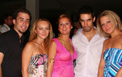 Me with friends @ Westin Athens