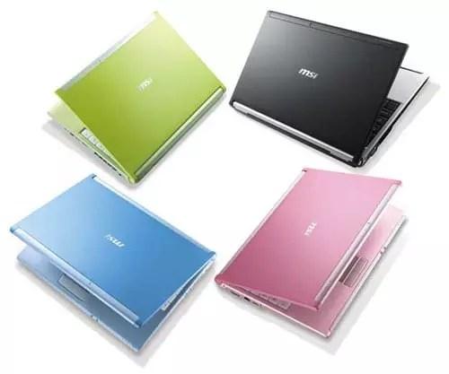 Netbook MSI VR220