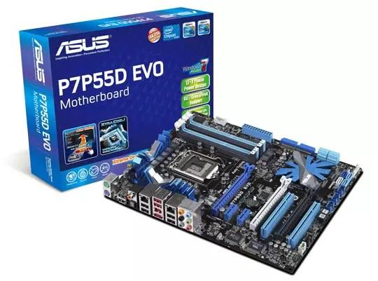 Asus P7P55D Series