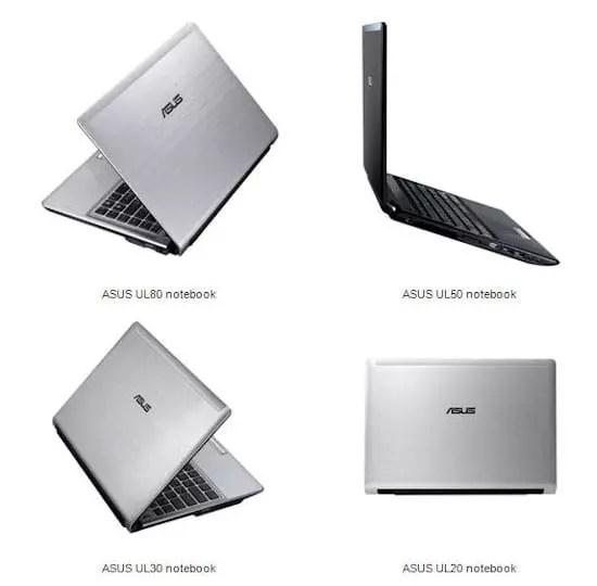 Asus UL Notebooks