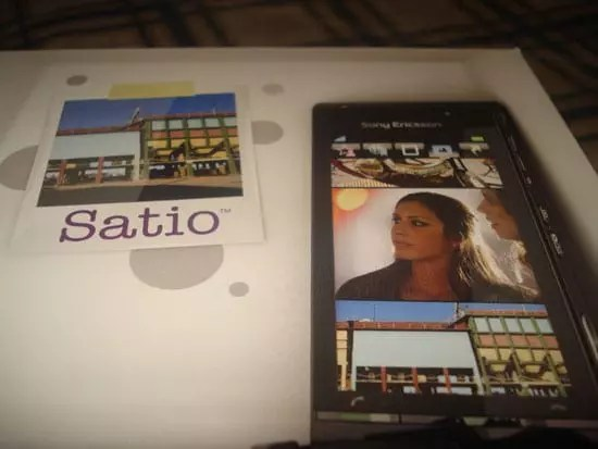 Sony Ericsson Satio