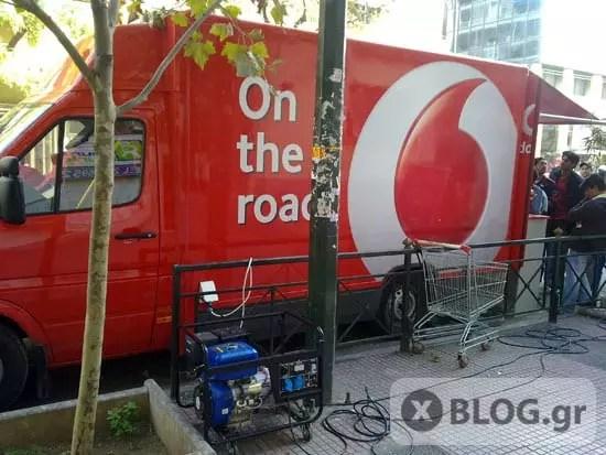 Vodafone, Ταυτοποίηση Καρτοκινητών On The Road