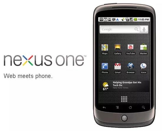 Nexus Phone, Google Android Phone