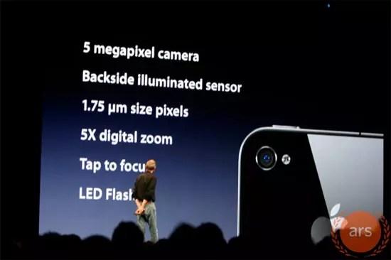 iPhone 4 Camera 5 Megapixel