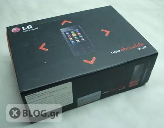 LG Chocolate BL20
