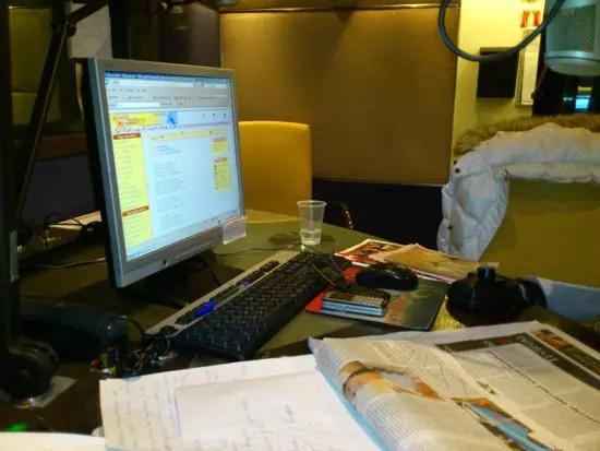 Ραδιοφωνικό στούντιο ΑΝΤ1, Φωτο από το Xperia Arc