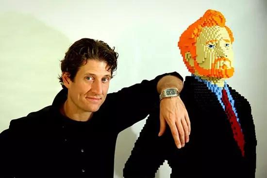 Γλύπτης αγαλμάτων από LEGO