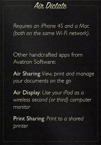 AirDictate: Υπαγορεύστε κείμενα στον Mac υπολογιστή σας με το iPhone!