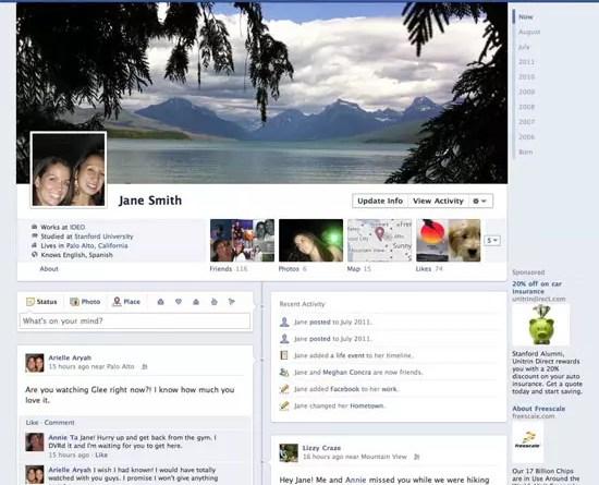 Facebook | Κυκλοφόρησε επιτέλους το Timeline!