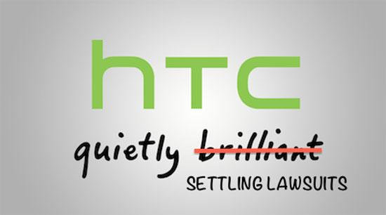 «Ειρηνευτική» συμφωνία για 10 χρόνια από Apple και HTC