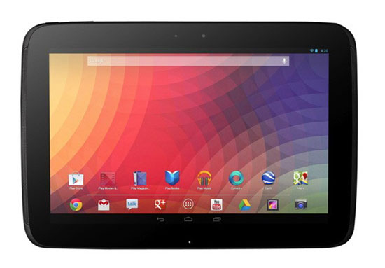Nexus 10 tablet