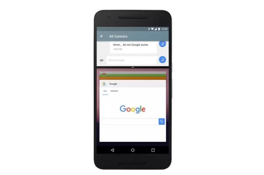 Android N Developer Preview Split Screen (2)