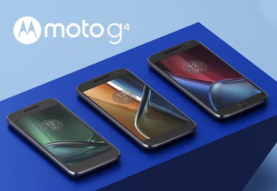 Lenovo Moto G4 family