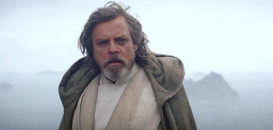 Ο Mark Hamill υποδύεται τον Luke Skywalker στο Star Wars The Force Awakens