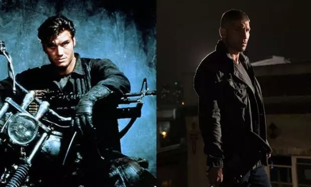 The Punisher 1989 and 2016