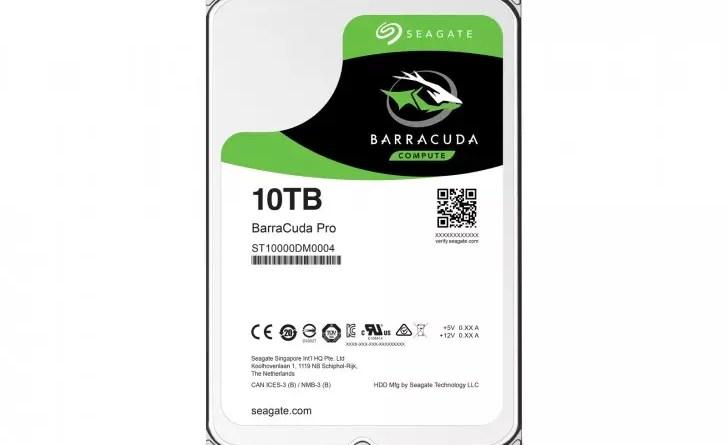 Seagate 10TB BarraCuda Pro HDD