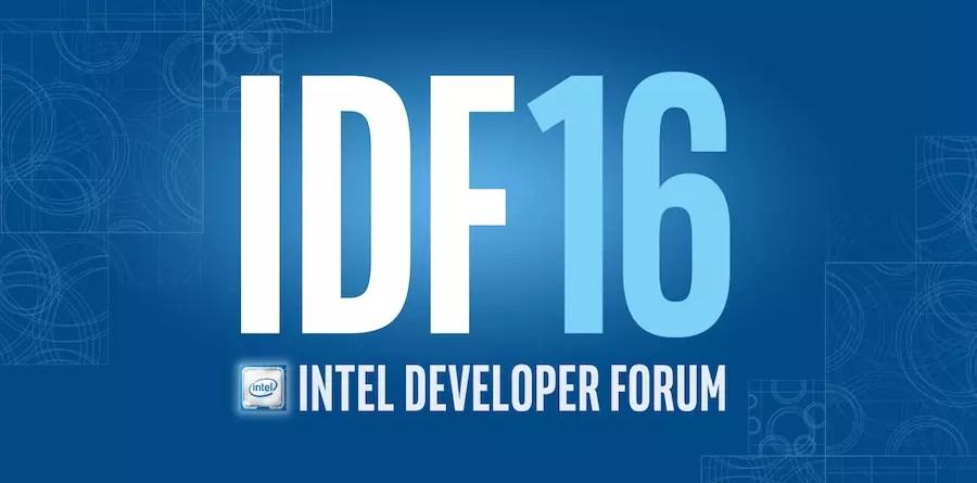 Intel IDF 2016