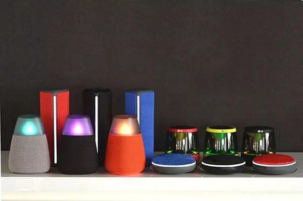 LG Bluetooth speakers IFA