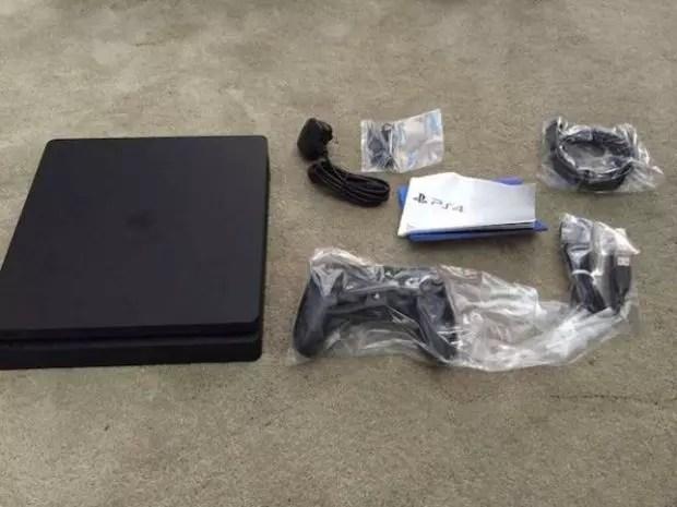 PlayStation 4 Slim leak