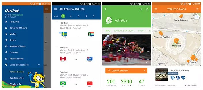 Samsung App Rio 2016 (3)