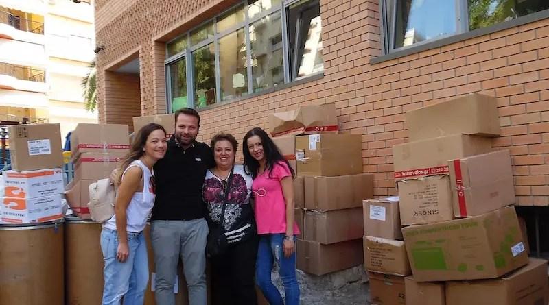 Εθελοντές της Κωτσόβολος για τη «Κιβωτό του Κόσμου»