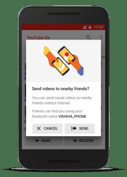 Google YouTube Go app preview