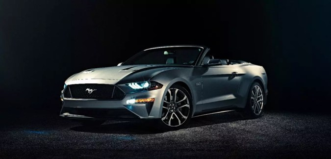 Ford Mustang GT Convertible Ingot Silver