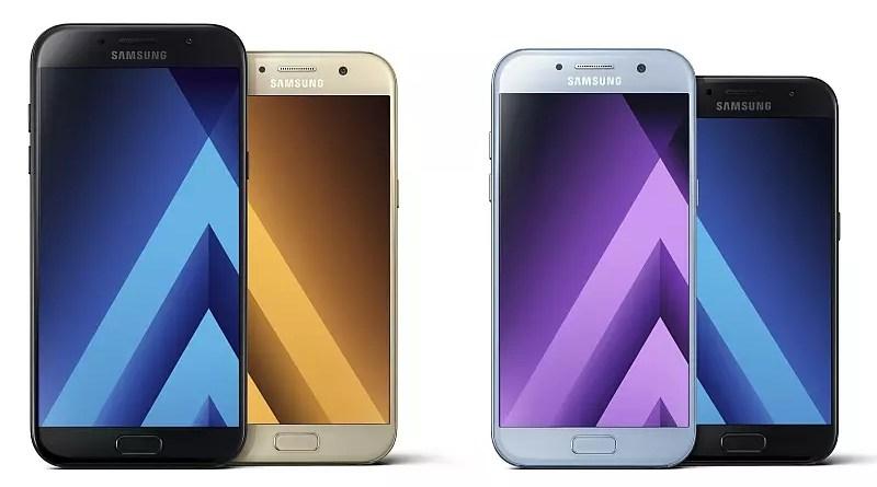 Samsung Galaxy A3 A5 A7 (2017)