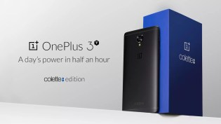 Limited edition Black OnePlus 3T colette hero