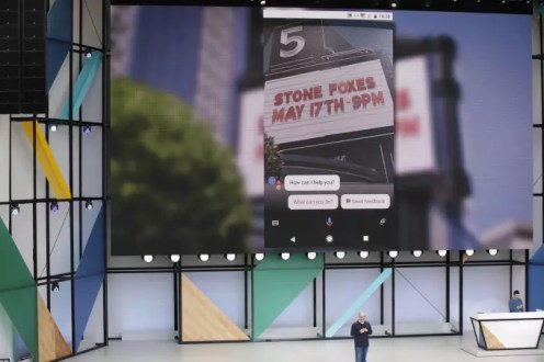 Google Lens theater